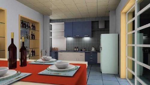 现代简约厨房风格